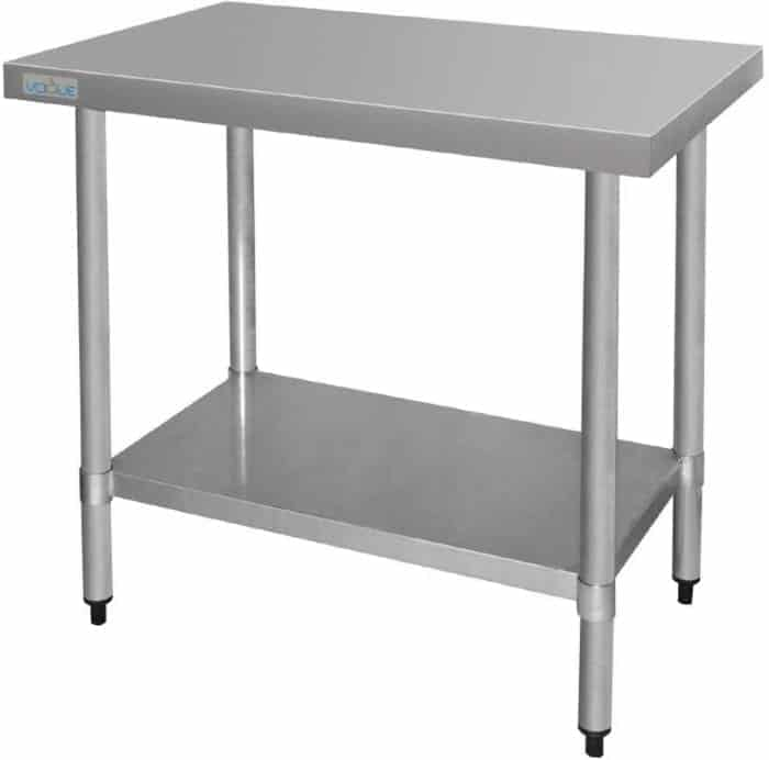 Vogue Ultra Heavy Duty Stainless Steel Table Without Upstand 1500mm x 600mm
